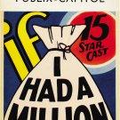 IF I HAD A MILLION 1932 W C Fields