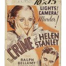 CRIME OF HELEN STANLEY 1934 Shirley Grey