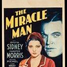 MIRACLE MAN 1932 Sylvia Sidney