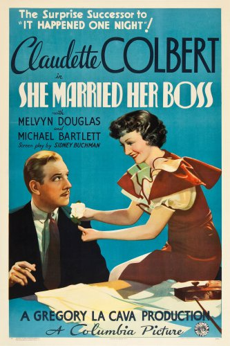 SHE MARRIED HER BOSS 1935 Claudette Colbert