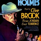 SHERLOCK HOLMES 1932 Clive Brook