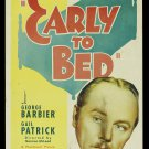 EARLY TO BED 1936 Mary Boland