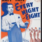 EVERY NIGHT AT EIGHT 1935 George Raft