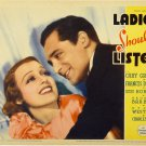 LADIES SHOULD LISTEN 1934 Cary Grant