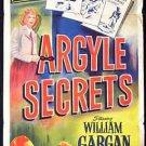ARGYLE SECRETS 1948 Marjorie Lord