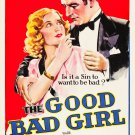 GOOD BAD GIRL 1931 Mae Clarke