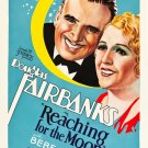 REACHING FOR THE MOON 1930 Douglas Fairbanks