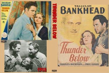THUNDER BELOW 1932 Tallulah Bankhead