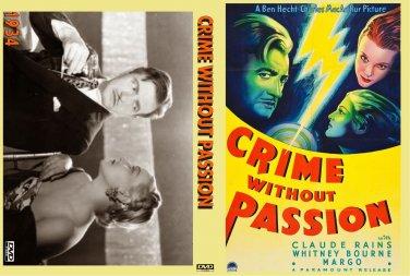 CRIME WITHOUT PASSION 1934 Claude Rains