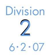 Division 2: 6-2-07