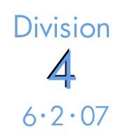 Division 4: 6-2-07