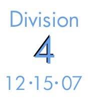 12-15-07: Division 4