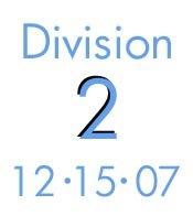 12-15-07: Division 2