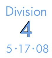 Division 4: 5-17-08