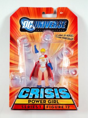 Powergirl DC Universe Infinite Heroes Figure Mattel