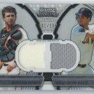 2011 Bowman Sterling Dual Relics #PB Buster Posey/Brandon Belt # 001/196