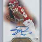 2011 Topps Precision Autographs Gold #PCVAEB Eric Berry # 25/50