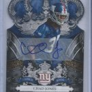 2010 Crown Royale Autographs #116 Chad Jones RC # 249/249
