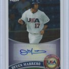 2011 Topps Chrome USA Baseball Autographs #USABB13 Deven Marrero