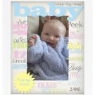 Baby Reflection Colors Baby Photo Picture Frame