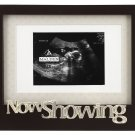 Now Showing Sonogram Baby Photo Picture Frame
