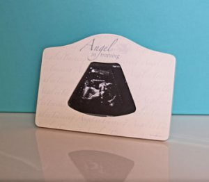 Angel in Training 2D Ultrasound Picture Frame