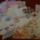 Kawaii Memo Sampler and Kawaii Sticker Flakes~FREE SHIPPING