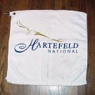 HARTEFELD BELL ATLANTIC CLASSIC GOLF PLAYER TOWEL