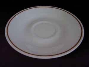 Corelle Corning Indian Summer (7) Saucers vtg ware VTG