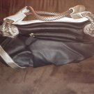 Large Black and Sliver Handbag