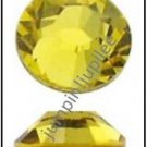 CITRINE Yellow Swarovski Flatback 2028 Flatback Rhinestones 12 pieces 5mm 20ss