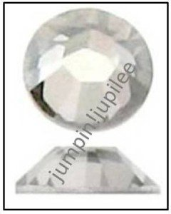 SILVER SHADE Swarovski NEW 2058 Crystal Flatback Rhinestones 144 piece 2mm 7ss