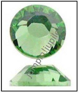 PERIDOT Green Swarovski NEW 2058 Crystal Flatback Rhinestones 12 pieces 5mm 20ss