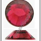RUBY Pink Red Swarovski Flatback 2028 Crystal Rhinestones 144 pieces 2mm 7ss