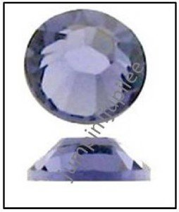 TANZANITE Purple Swarovski NEW 2058 Crystal Flatback Rhinestones 144 pcs 2mm 7ss