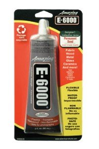 E6000 Adhesive Rhinestone Crystal Craft Jewelry Gem Automotive Glue 2 oz E-6000