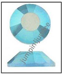LIGHT SAPPHIRE AB Swarovski Crystal Flatback 2028 Rhinestones 12 pieces 5mm 20ss