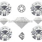 pp24 Crystal Clear Swarovski 1028 Chaton Pointed Back Rhinestones 144 pcs 3mm