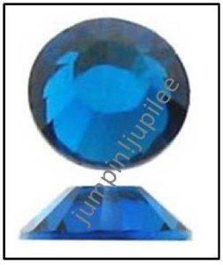 CAPRI BLUE Swarovski NEW 2058 Crystal Flatback Rhinestones 144 pieces 3mm 12ss