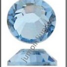 LIGHT SAPPHIRE BLUE Swarovski Crystal 2058 Flatback Rhinestones 36 pc 5mm 20ss