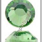 PERIDOT Green Swarovski Crystal 2028 Flatback Rhinestones 144 pieces 3.5mm 14ss