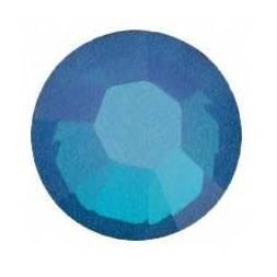 WHITE OPAL SKY BLUE 5ss Swarovski 2028 Rhinestones 144