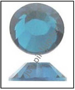 MONTANA SAPPHIRE Blue Swarovski Flatback 2028 Crystal Rhinestones 144 pc 2mm 7ss