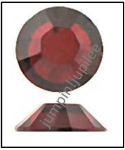 SIAM Red Swarovski NEW 2058 Crystal Flatback Rhinestones 144 pieces 3mm 12ss