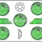 FERN GREEN Swarovski Crystal Flatback 2028 Rhinestones 144 pieces 3mm 12ss