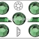 ERINITE Green Swarovski 2028 Crystal Flatback Rhinestones 144 pcs 3mm 12ss