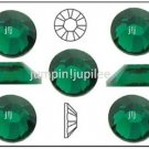 EMERALD Green Swarovski NEW 2058 Flatback Crystal Rhinestones 144 pcs 1.8mm 5ss
