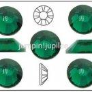 EMERALD Green Swarovski NEW 2058 Flatback Crystal Rhinestones 144 pcs 1.8mm 5ss
