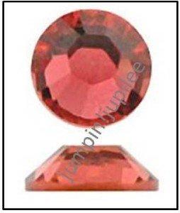 PADPARADSCHA Swarovski Flatback 2028 Crystal Rhinestones 12 pieces 5mm 20ss