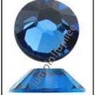 SAPPHIRE BLUE Swarovski New 2058 Flatback Rhinestones 72 pieces 5mm 20ss